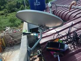 Antena Parabola Mini Nusantara HD Gratis TV Nasional Selamanya