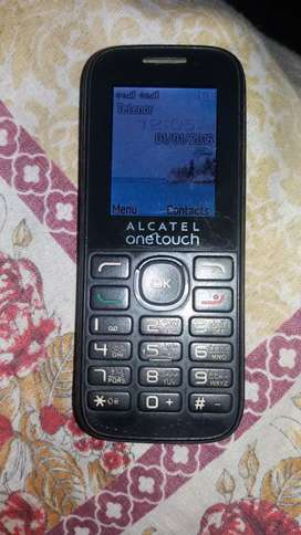 Alcatel present in used with charger
