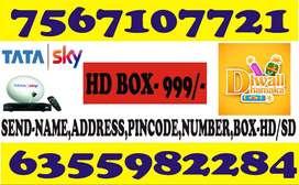 TATASKY AIRTEL DISH TV DTH DIWALI OFFER 70% DISCOUNT