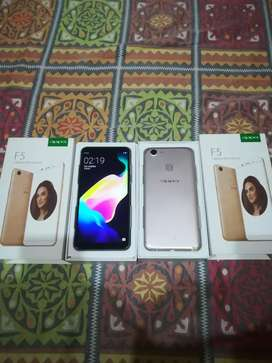Oppo f5 64gb 4gb all stock pta approved masha allah