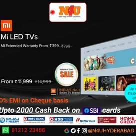 Mi TV's now available at N4U mobiles with attractive offers