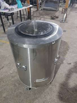 Double Body Pure Stainless Steel TANDOOR. Premium Quality