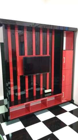 Backdrop kabinet TV
