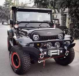 Modified best angry bird style jeep