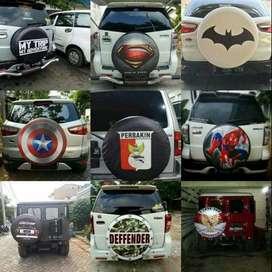 Cover/Sarung Ban CRV/Taouring DLL rush terios taruna#Winter Soldier Bu