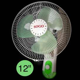 Kipas Angin Dinding Sogo Wall Fan 12""