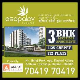 Asopalav luxriya 3bhk