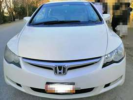 Honda civic reborn 2008 on easy installment in corporate