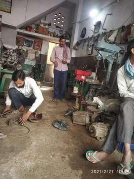 Leth Work, Motor Pump Repairing, welding Work