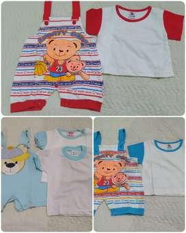 Stelan  baju baby baru dan secound