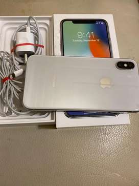 Iphone X 256gb in excellent condition looks as good as new .
