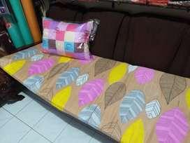 Set Paket Tas Sarung + Kasur Matras Busa Dacron Dakron Lipat + Bantal
