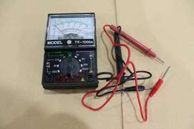 Avometer Analog Manual Portable