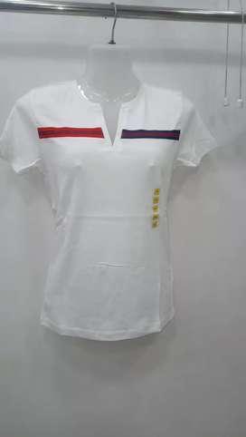 Ladies branded t-shirt top