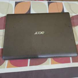 Dijual cepat laptop Acer 4ram har