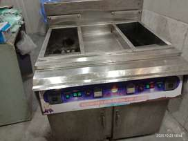 Deep fryer with double side.