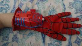 Spider man Costume glove 1 hand with web sounds mechanism