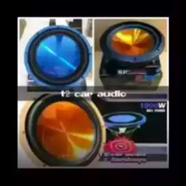 Diobral mumer gan Embassy subwoofer 12inc double coil