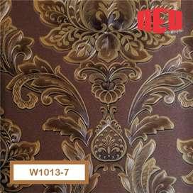 Promo Wallpaper dinding motif cocok untuk ruang keluarga, ruang tamu