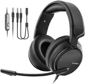 Nubwo N12 Gaming Headphone For PC PS4 And Mobile Gamer Headphones