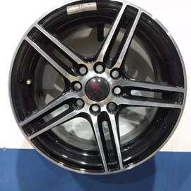 Velg mobil racing ring14 HSRwheel dobel pcd 8×100-114,3 cicilan 0%