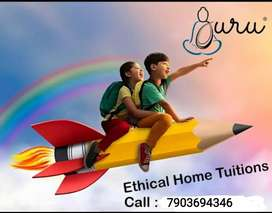 Contact for Home Tutor CBSE/ICSE Classes 1 to 12th