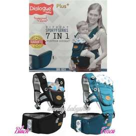 Dialogue gendongan Hipseat 7 in 1 Sporty