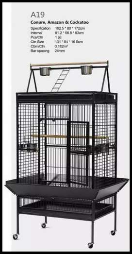 All tips tame birds stand & cage available