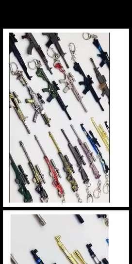 Pubg All Guns with Every Skin keychain