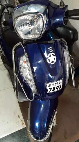 Suzuki Access 125 August 2019