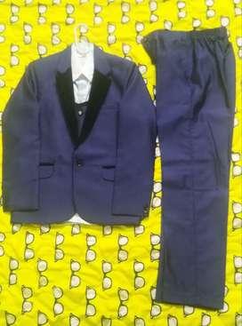 A Party Wear Royal Blue Suit for Sale!!!