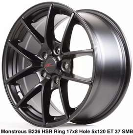 Hsr Monstrous ring 17x75 h5x114 et37smb