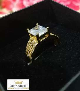 Attractive #Designed #Zircon #Ring For #Her...