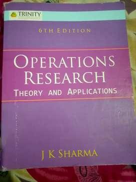 Operations Research - JK Sharma
