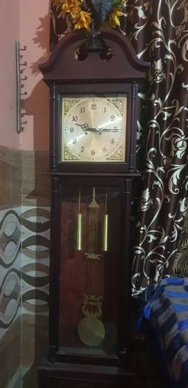 Antique grandfather clock is available