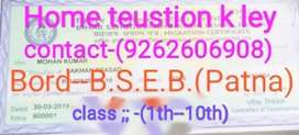 Part time home tuition