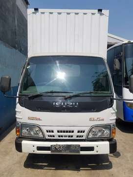 ISUZU ELF NKR 71 LWB th 2016. Full ors. Tdp 25jt.BOX JUMBO.KM 120RB.