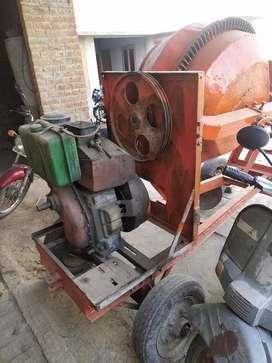 Mixer machine for concrete