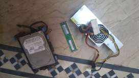 Hard drive+ram+power supply for s for sale.