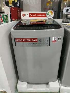 Kredit TANPA DP langsung cair mesin cuci LG