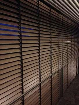 Krey kayu wodden blinds tirai naturalis