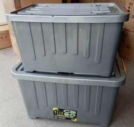 Box container jumbo kap.90L,dgn roda