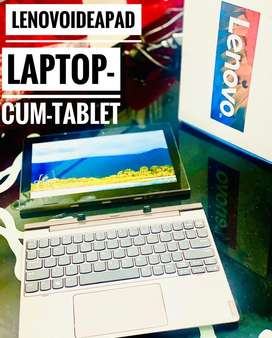 LENOVO CHROMEBOOK WITH TOUCH(USE AS TABLET TOO)BEST FOR ONLINE CLASSES