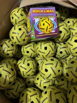 Bola takraw,sepak bola takraw,bola emas syntetic
