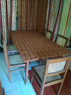 Full and perfect size dining table