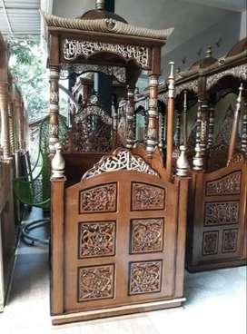 mimbar masjid kubah mewahh
