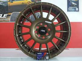 Velg Mobil Ring 16 HSR untuk Nissan March Lancer, Mirage, dll