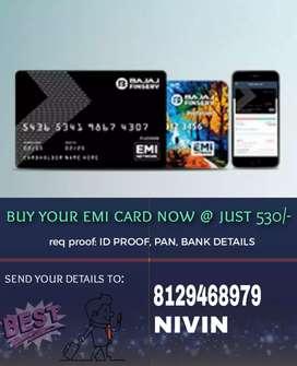 BAJAJ FINSERV EMI CARD @530