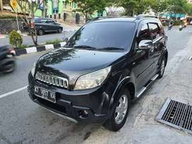 DiJual Cepat Terios 1500cc TX Adventure Manual th2010 Hitam metalik
