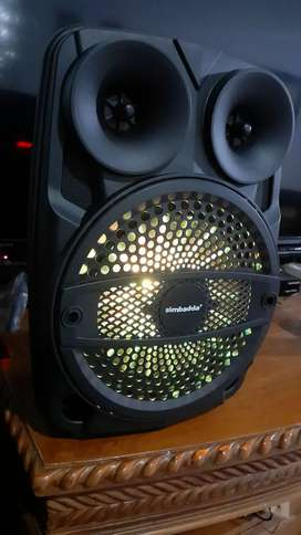 Speaker karaoke simbadda cst 838 n